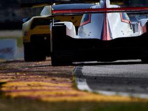 #3 Corvette Racing Corvette C7.R, GTLM: Jan Magnussen, Antonio Garcia, #6 Acura Team Penske Acura DPi, DPi: Juan Pablo Montoya, Dane Cameron
