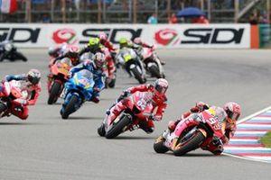 Marc Marquez, Repsol Honda Team comanda all'inizio della gara
