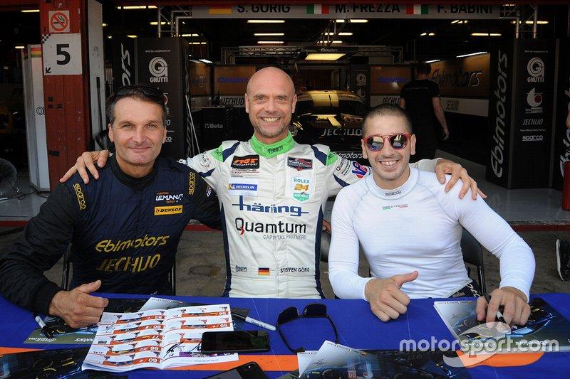 #80 Ebimotors Porsche 911 RSR: Fabio Babini, Marco Frezza, Edward-Lewis Brauner