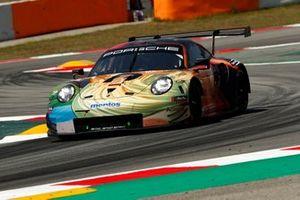 Эджидио Перфетти, Йорг Бергмайстер, Маттео Кайроли и Давид Хейнемейер Ханссон, Team Project 1, Porsche 911 RSR (№56)