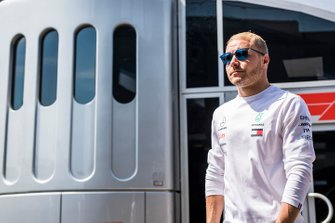 Valtteri Bottas, Mercedes AMG F1 in the paddock