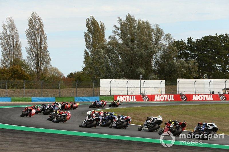 Start der Superbike-WM 2019 in Magny-Cours