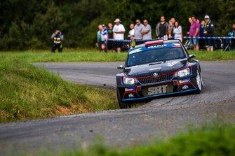 Nikolay Gryazin, Jaroslav Fedorov, Skoda Fabia R5, Barum Czech Rally Zlin, FIA ERC