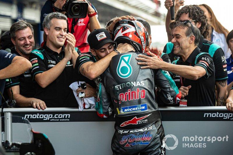 Pole GP de Tailandia - Fabio Quartararo, Petronas Yamaha SRT