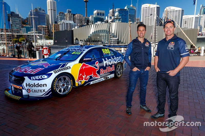 Steven Richards, Team 18, Craig Lowndes, Triple Eight Race Engineering Holden