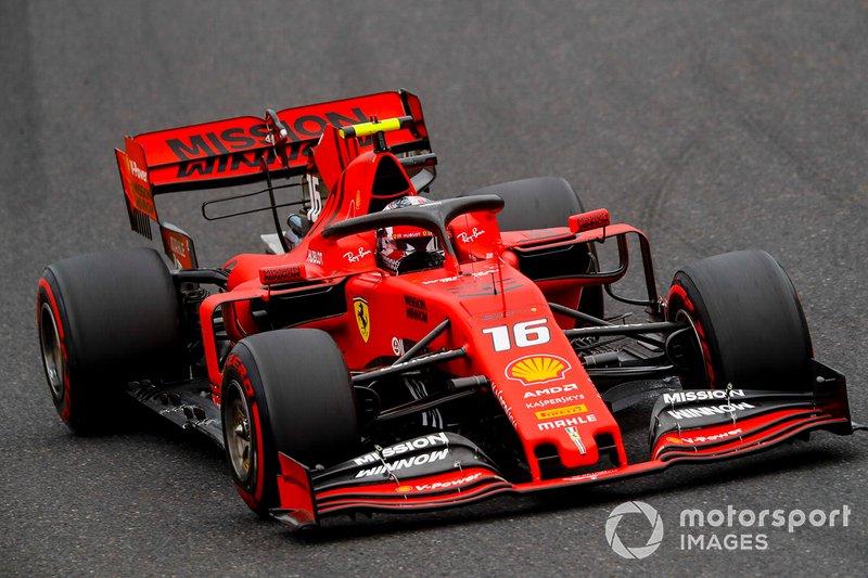 Bahreyn: Charles Leclerc, Ferrari