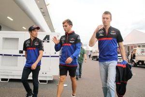Naoki Yamamoto, Pierre Gasly, Daniil Kvyat, Toro Rosso