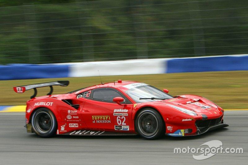 #62 Risi Competizione Ferrari 488 GTE: Alessandro Pier Guidi, James Calado, Daniel Serra