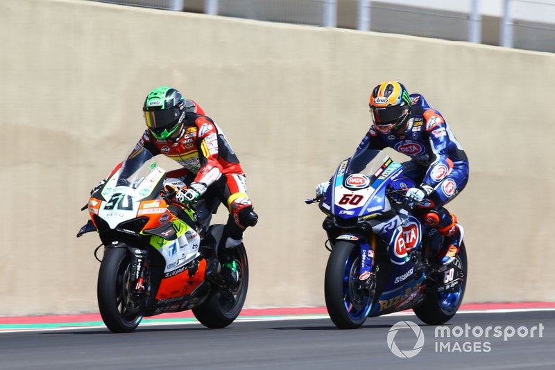 Eugene Laverty, Team Go Eleven, Michael van der Mark, Pata Yamaha