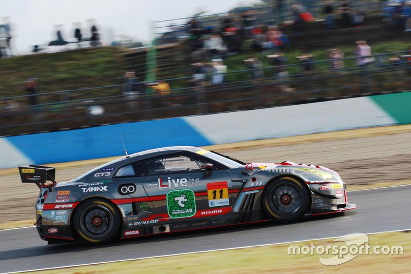 #11 Gainer Nissan GT-R Nismo GT3: Katsuyuki Hiranaka, Hironobu Yasuda