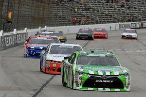 Brandon Jones, Joe Gibbs Racing, Toyota Camry Interstate Batteries, Spencer Gallagher, GMS Racing, Chevrolet Camaro Allegiant