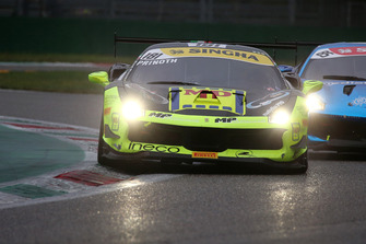 #181 Ferrari 488, Ineco - MP Racing: Eric Prinoth