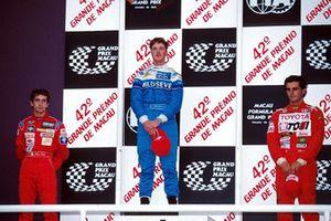 Ralf Schumacher (GER) 1st place, 2nd Jarno Trulli (ITA), 3rd Pedro De La Rosa (ESP)