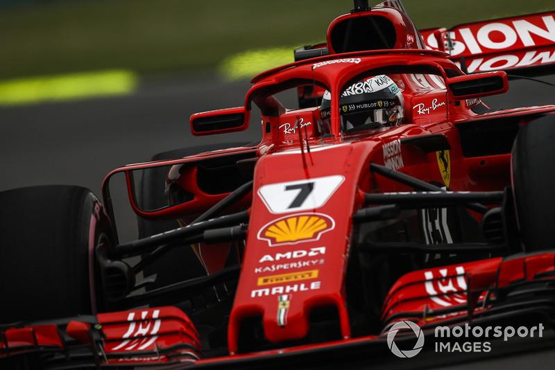 3. Kimi Raikkonen, Ferrari SF71H