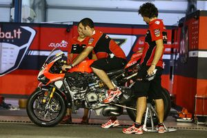 Chaz Davies, Aruba.it Racing-Ducati SBK Team bike