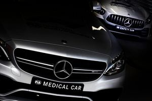 The Safety and Medical cars