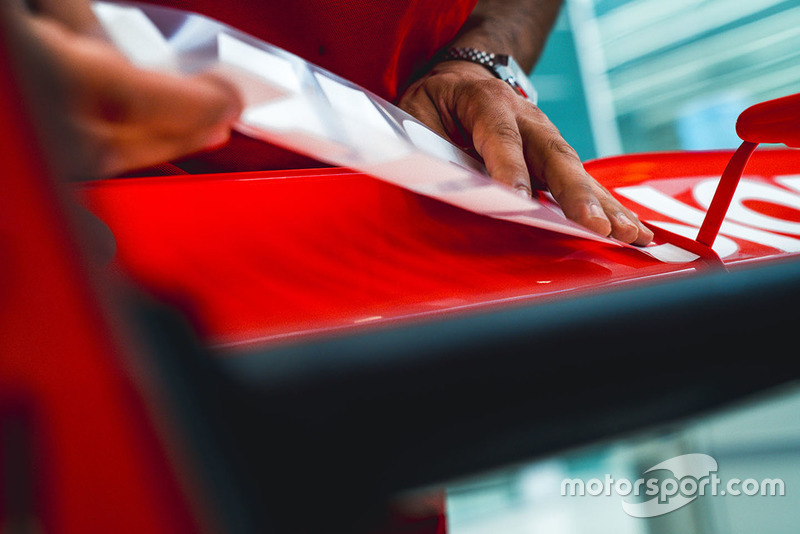 Teaser nieuwe livery Ferrari