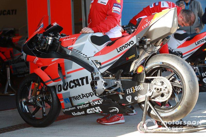 Мотоцикл Данило Петруччи, Ducati Team