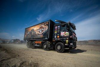 Петер Ван Делм, Стевен Васен, Кюрт Кейсерс, VDR truck racing Ford Otosan (№623)