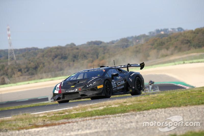 Lamborghini Huracan Super Trofeo Evo #96: Raffaele Giannoni