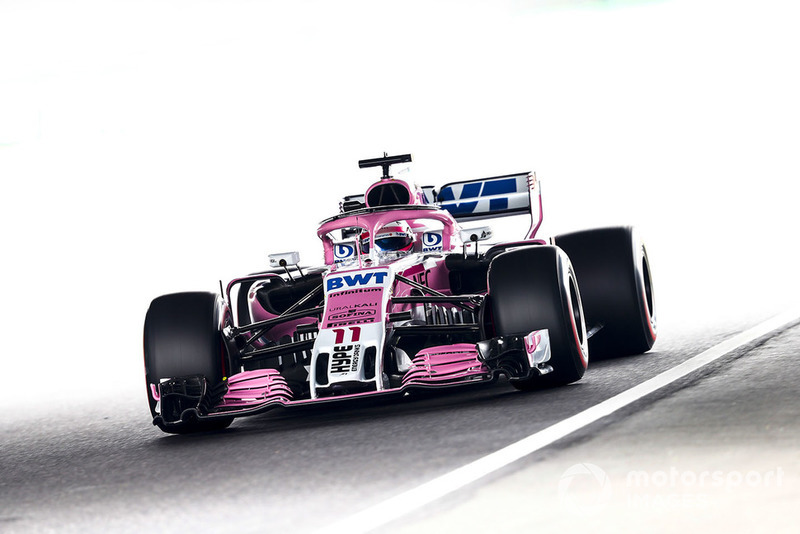 7. Sergio Perez, Racing Point Force India VJM11