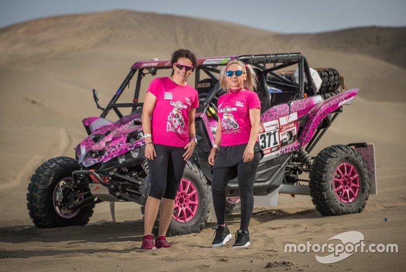 #371 Yamaha: Camelia Liparoti, Rosa Romero