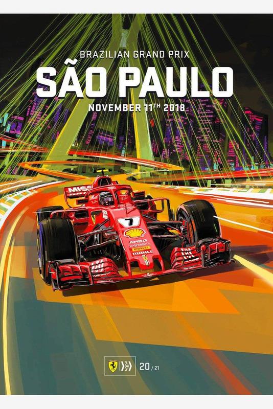 Постер Гран При Бразилии