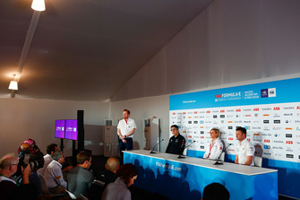 Press conference with Mark Preston, Team Principal, DS TECHEETAH, Susie Wolff, Team Principal, Venturi Formula E, Allan McNish, Team Principal, Audi Sport Abt Schaeffler