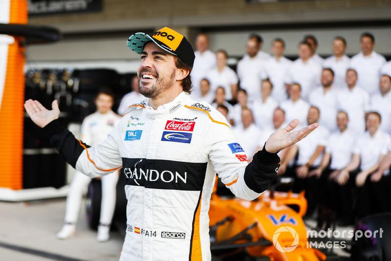 Fernando Alonso, McLaren, y el equipo de McLaren