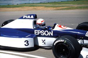 Satoru Nakajima, Tyrrell 019 Ford
