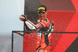 Deuxième place : Marco Melandri, Aruba.it Racing-Ducati SBK Team