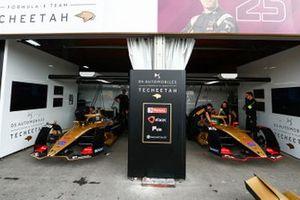 The DS Techeetah garages