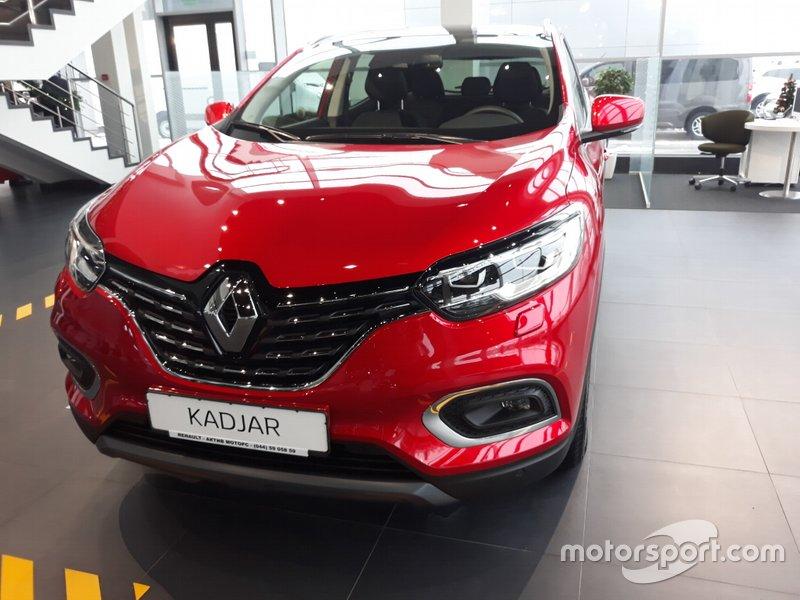Renault Kadjar 2019 року