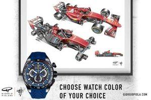 Promoción de relojes de Giorgio Piola