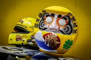 Helmet of Tom Coronel, Boutsen Ginion Racing Honda Civic Type R TCR