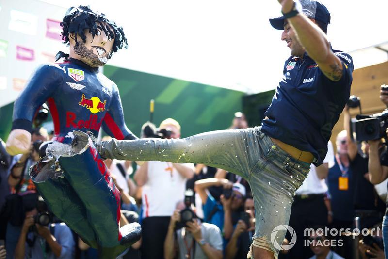 Piñata de Daniel Ricciardo, Red Bull Racing