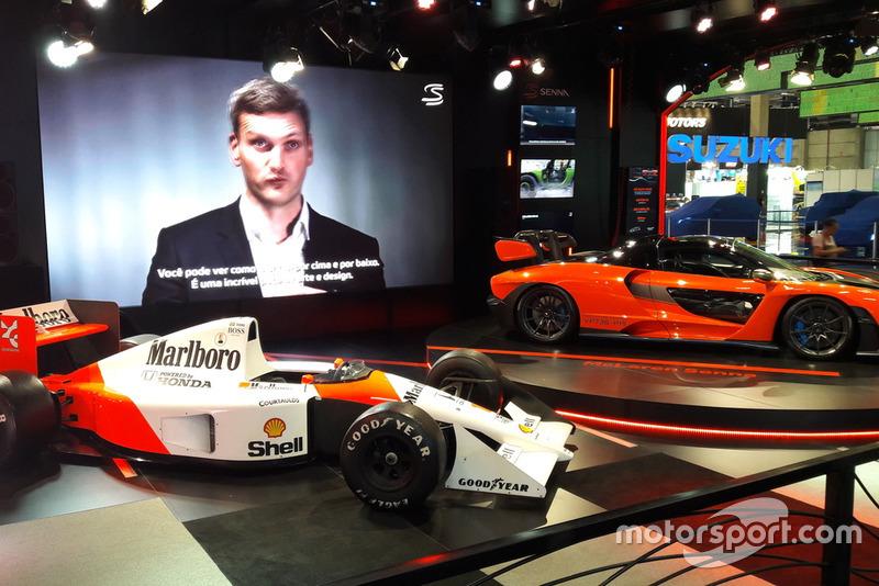 McLaren MP4/6 e McLaren Senna