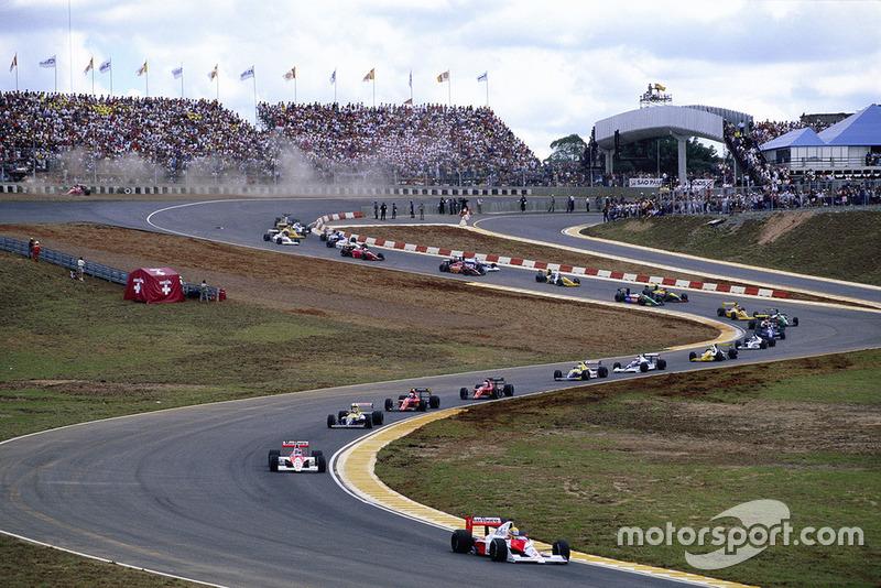 Após a edição de 1989, o Rio de Janeiro demonstrou interesse em deixar de receber a corrida, o que motivou a volta de Interlagos para o calendário da F1.