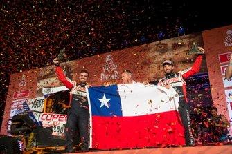 Podium: #360 Can-Am: Francisco Lopez Contardo, Alvaro Juan Leon Quintanilla