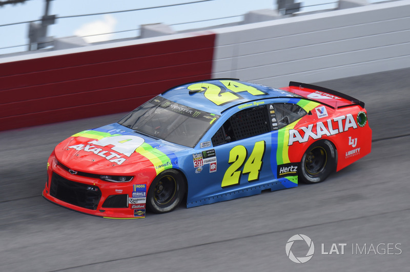 William Byron, Hendrick Motorsports, Chevrolet Camaro AXALTA Throwback