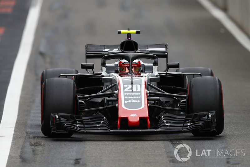 8. Kevin Magnussen, Haas F1 Team VF-18