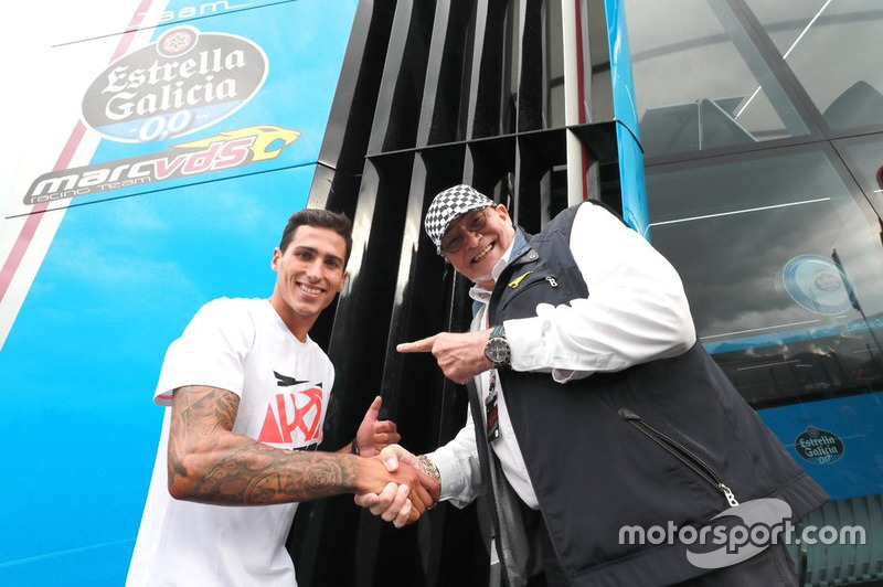 Xavi Vierge, Marc VDS Racing with Marc van der Straten