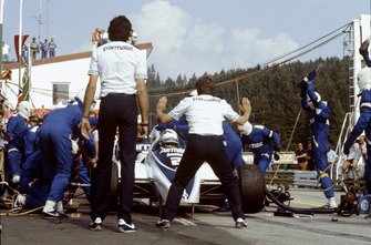 Pitstop de Riccardo Patrese, Brabham BT50-BMW