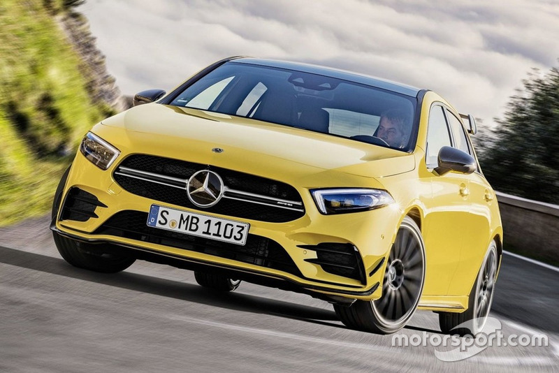 Mercedes AMG A35 4matic 2019 року