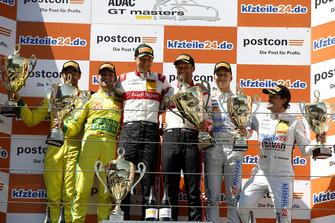 Podium: Winners #33 Team ISR Audi R8 LMS: Filip Salaquarda, Frank Stippler, second place #47 HTP Motorsport Mercedes-AMG GT3: Maximilian Götz, Markus Pommer, third place #24 BWT Mücke Motorsport Audi R8 LMS: Mike David Ortmann, Markus Winkelhock