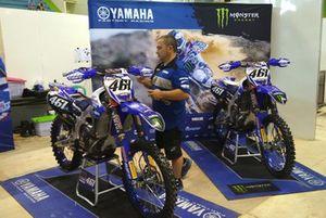 Paddock Yamaha Factory Racing Team