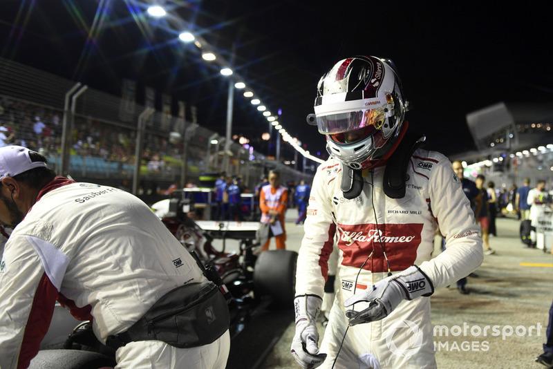 Charles Leclerc, Sauber, na polach startowych