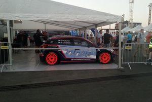La Hyundai i20 R5 di Jari Huttunen, Antti Linnaketo