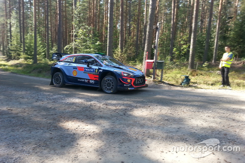 Hayden Paddon, Sebastian Marshall, Hyundai i20 Coupe WRC, Hyundai Shell Mobis World Rally Team