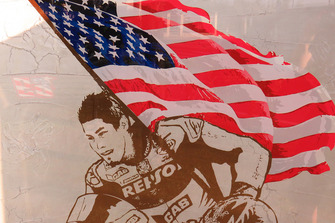 A visit to the Nicky Hayden memorial at the site of his fatal bicycle crash
